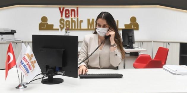Yenişehir Belediyesi ekipleri 7/24 vatandaşın taleplerine cevap veriyor