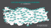 Mersin'de vaka sayısı artışa geçti