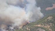 Aydıncık'ta yine orman yangını