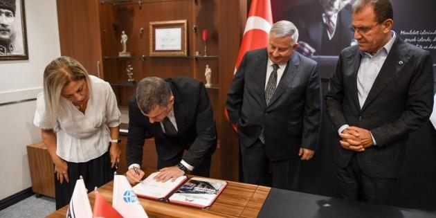 Metro Projesinde imzalar atıldı