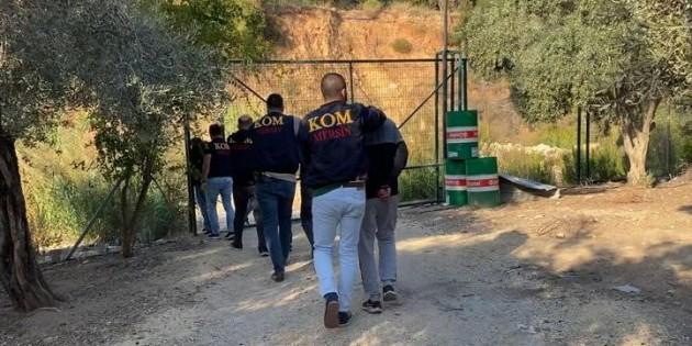 Fidye için adam kaçıran şüpheliler polisin operasyonuyla yakalandı