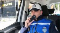 """Büyükşehir zabıta, araçlardan """"Evde Kal"""" anonsu yapıyor"""