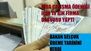 Bakan Zümrüt Zehra Selçuk'tan kısa çalışma ödeneği hakkında açıklamalar