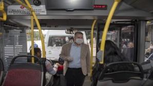Toplu taşıma araçları denetleniyor