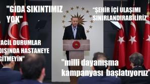 Cumhurbaşkanı Erdoğan Milli Dayanışma kampanyası başlattı