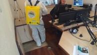 Toroslar Belediyesi canlı yayında dezenfekte çalışması yaptı