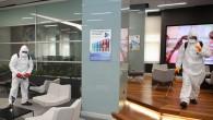 Akdeniz Belediyesi resmi kurumları ilaçlıyor