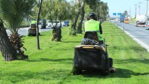 Büyükşehir, parklardaki çalışmalarını aksatmıyor