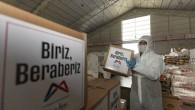 Büyükşehir Belediyesi 70 bin gıda paketi dağıttı