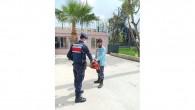 Evden hırsızlık yapan 2 kişi yakalandı