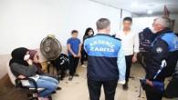 Kaçak çalıştırılan tekstil atölyesi mühürlendi