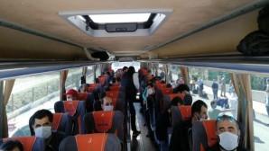 Karantina süreleri dolan 244 kişi evlerine gönderildi