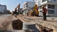 Kuyluk'ta kanalizasyon sorunu çözülüyor