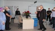 Mersin'de sağlık çalışanlarına 5 bin gül