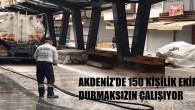 Akdeniz sokaklarında dezenfekte çalışmaları sürüyor