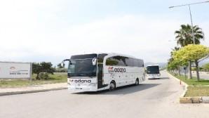 Suudi Arabistan'dan getirilen 168 Türk vatandaşı Mersin'de karantinaya alındı