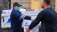 Büyükşehir'den seyyar satıcılara destek