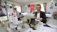 Viranşehir Gönüllü Evi'nde maske üretimine başlandı