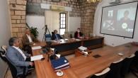 Büyükşehir Encümen Toplantısı ilk kez video konferans ile gerçekleşti