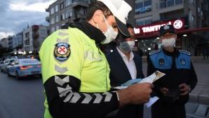 BAŞKAN YILMAZ, GECE NÖBETİNDEKİ POLİSLERİ UNUTMADI