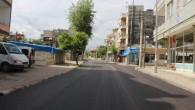 Araç yoğunluğu azaldı, işlek caddeler asfaltlandı