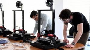 Büyükşehir, 3D yazıcılarla maske üretiyor