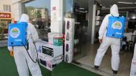 Toroslar'da dezenfekte çalışmaları hız kesmiyor