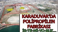 MERÇED, Polipropolin Fabrikasına karşı imza kampanyası başlattı