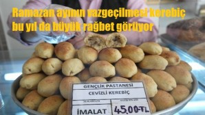 Tarsus'ta kerebiç tatlısına talep attı