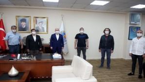 MGC yönetimi Başkan Gültak'ı ziyaret etti