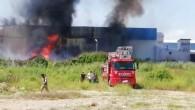 Mersin'de fabrikadaki yangın kontrol altına alındı