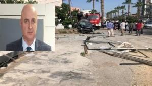 Spor ilçe müdürü trafik kazasında hayatını kaybetti
