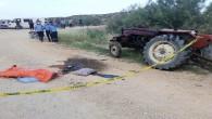 Mut'ta iki traktör kazası: 1 ölü 2 yaralı