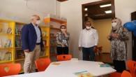 Başkan Gültak, çocuk kütüphanesi ve oyun alanını hizmete açtı