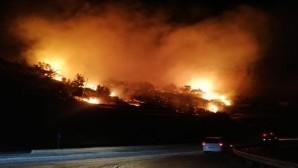 Aydıncık'ta 3 hektar kızılçam ormanı yandı