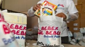 El bebek gül bebek' paketleri 8 bin aileye ulaştı