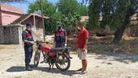 Motosiklet çalan 3 kişi suçüstü yakalandı