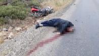 Motosikletten düşen adam ağır yaralandı