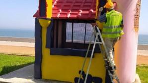 Büyükşehir, parkları çocuklar için hazırlıyor