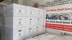 MDTO'dan denetimli serbestlik yükümlülerine 100 koli gıda yardımı