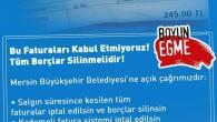 Mersin'de su faturalarına karşı imza kampanyası: Faturalar iptal edilsin, borçlar silinsin