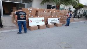 Mersin'de 10 milyon liralık kaçakçılık operasyonu