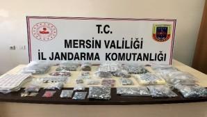 Mersin'de 1 milyon 65 bin liralık kaçakçılık operasyonu