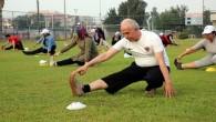 Başkan Gültak, vatandaşlarla sabah sporu yaptı