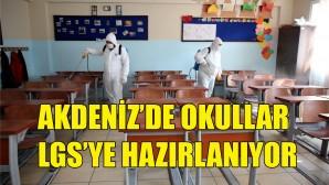 Sınıflar dezenfekte ediliyor