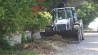 Erdemli'de sosyal alanlar temizleniyor