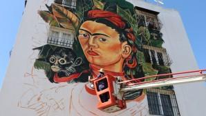 Toroslar'da duvarlar sanat eserine dönüşüyor