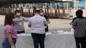 Mersin'de çocukların sınav heyecanı başladı