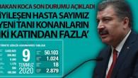 Türkiye'de bugün koronavirüsten hayatını kaybedenlerin sayısı 18