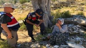 Kayıp kadın kırsal bölgede bulundu